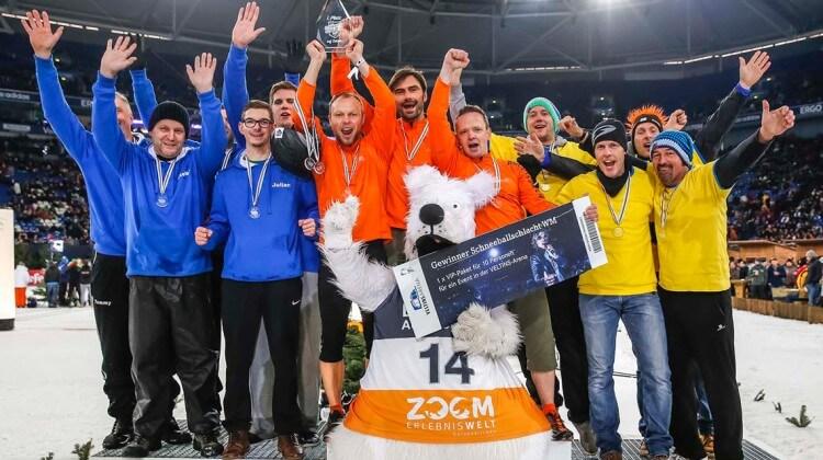 Siegerehrung 2014 SBS-WM