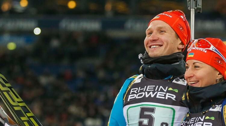 Ukraine Biathlon auf Schalke