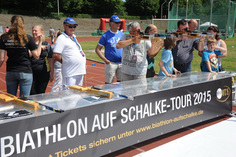 neues von der biathlon auf schalke tour joka biathlon wtc. Black Bedroom Furniture Sets. Home Design Ideas