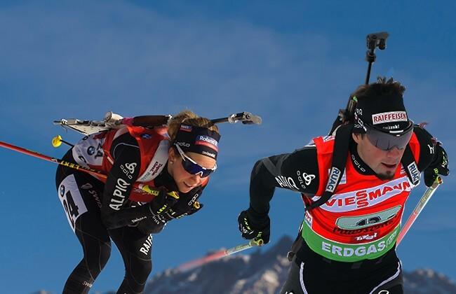 Gasprain und Weger Biathlon