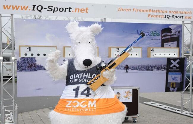 Biathlon SImulator Maskottchen