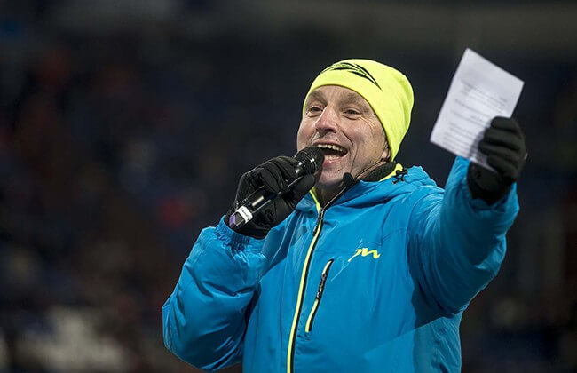 Biathlon Cheforganisator Biathlon auf Schalke