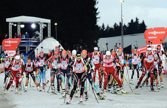 Viessmann Biathlon Massenstart