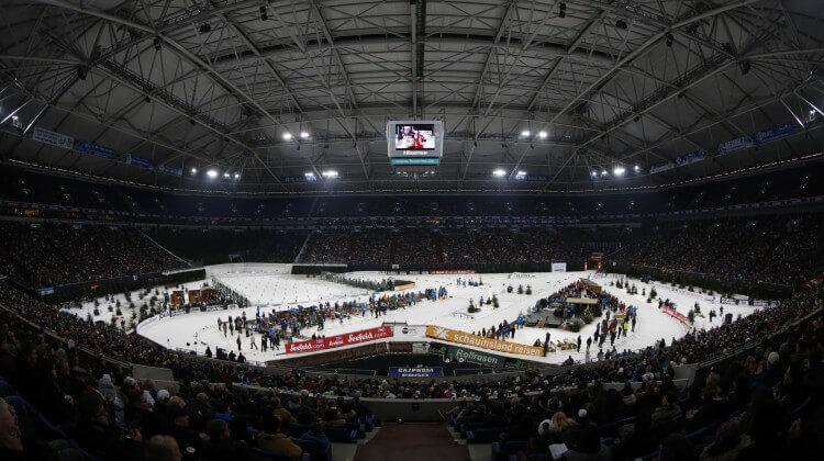 Loipe Biathlon WTC