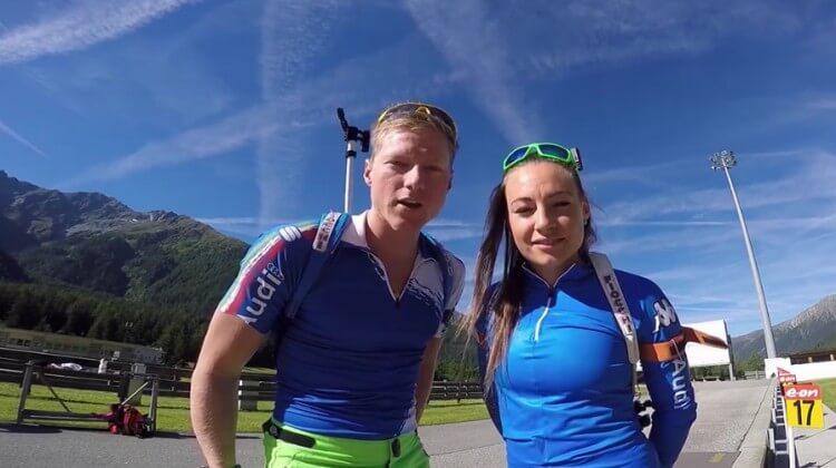 Videoblog Team Italien