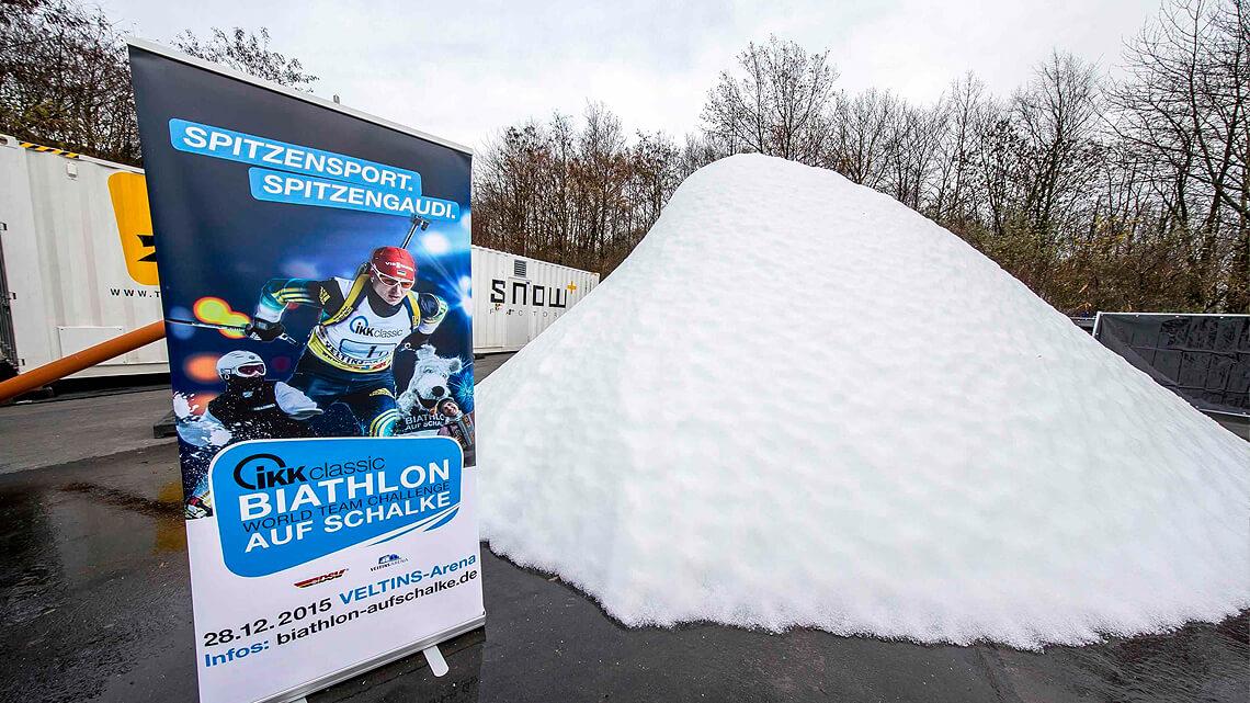Biathlon auf Schalke - Snowfactory