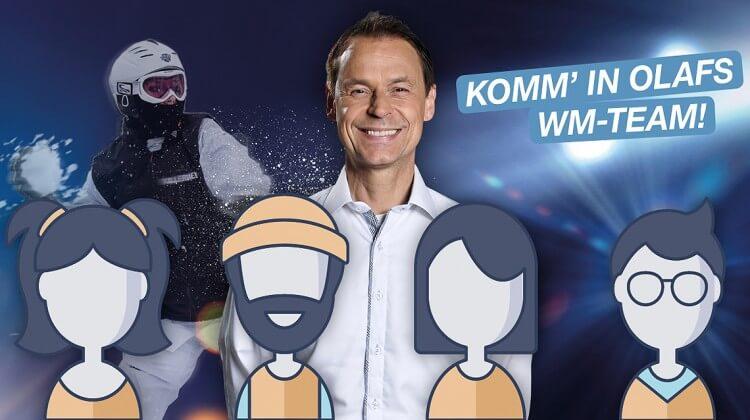 Olaf Thon Schneeballschlacht WM