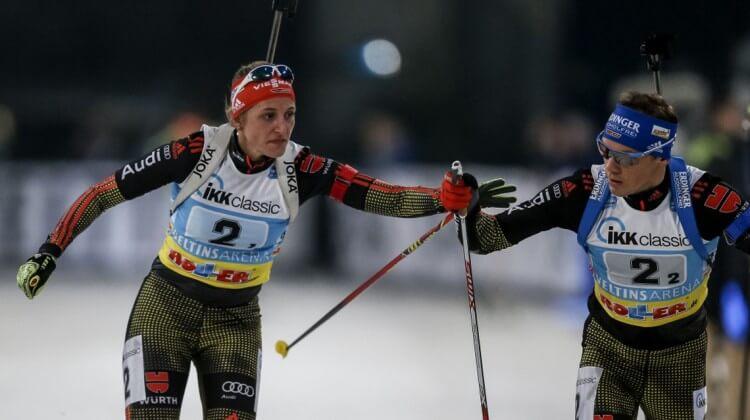 Wechsel Biathlon