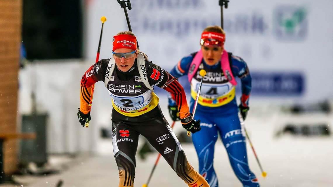 Biathlon auf Schalke 2014, VELTINS-Arena