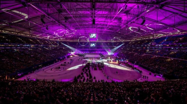 VELTINS-Arena Feuerwerk