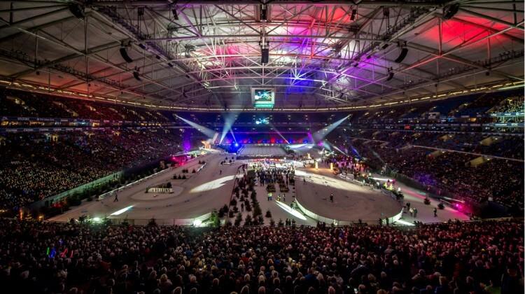 VELTINS-Arena Lichtshow