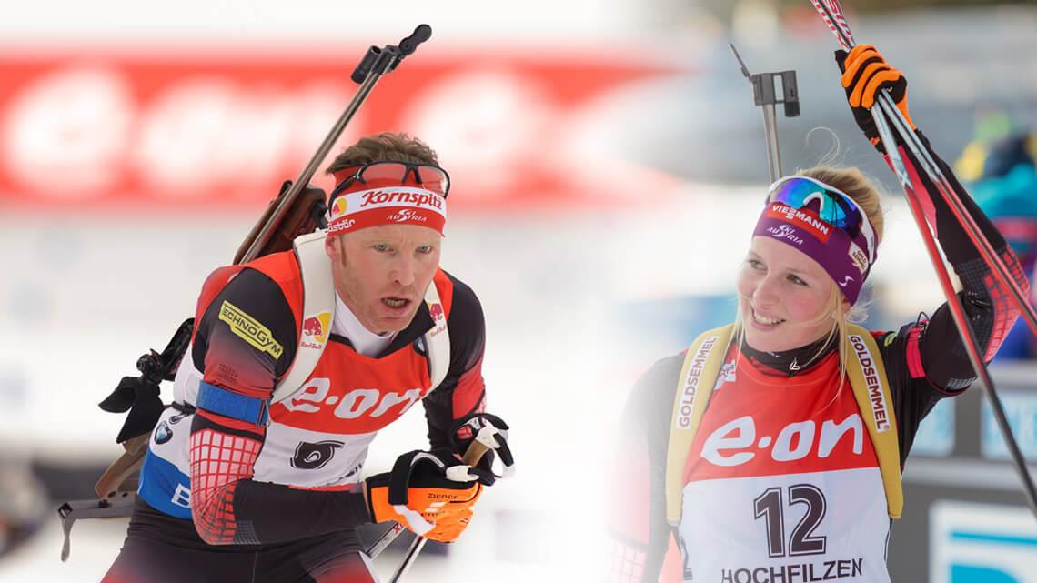 Simon Eder & Lisa Hauser (Team Österreich)