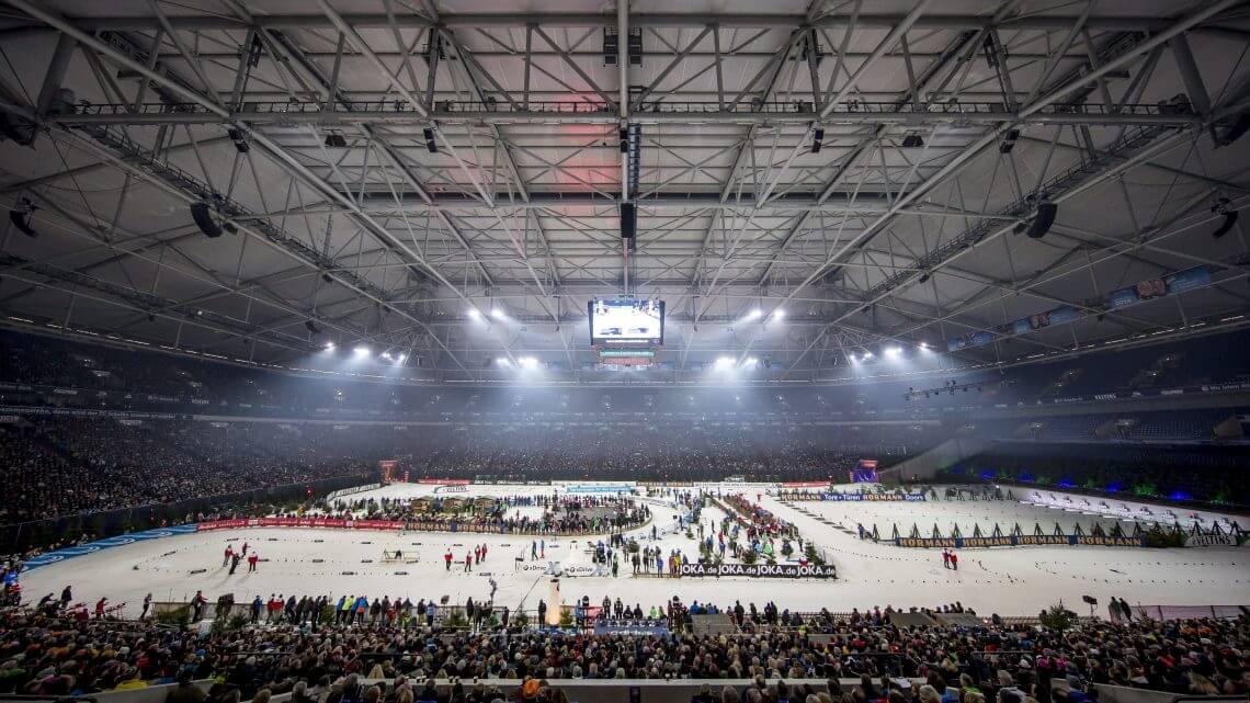 Atmosphäre VELTINS-Arena