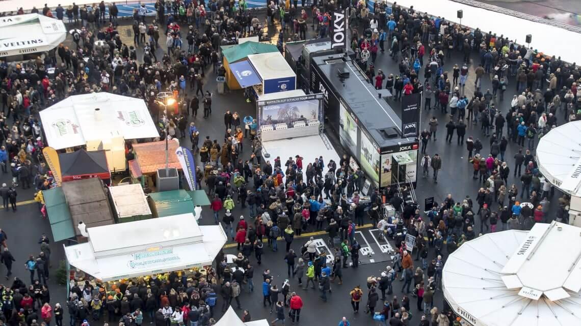 Event-Area Biathlon auf Schalke