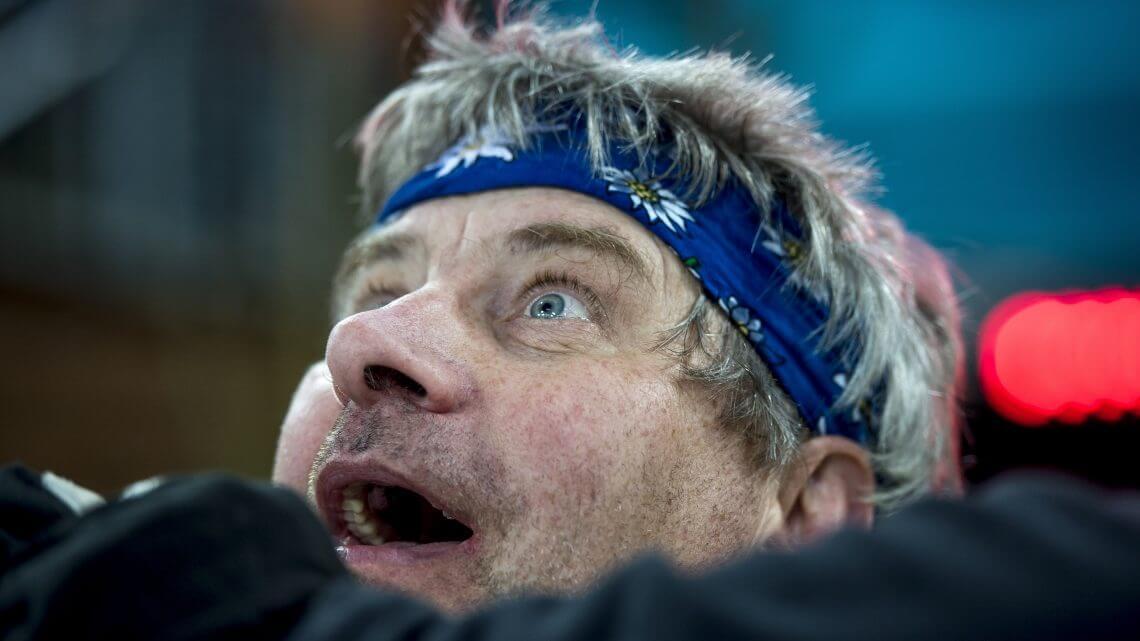 Biathlon auf Schalke Publikum