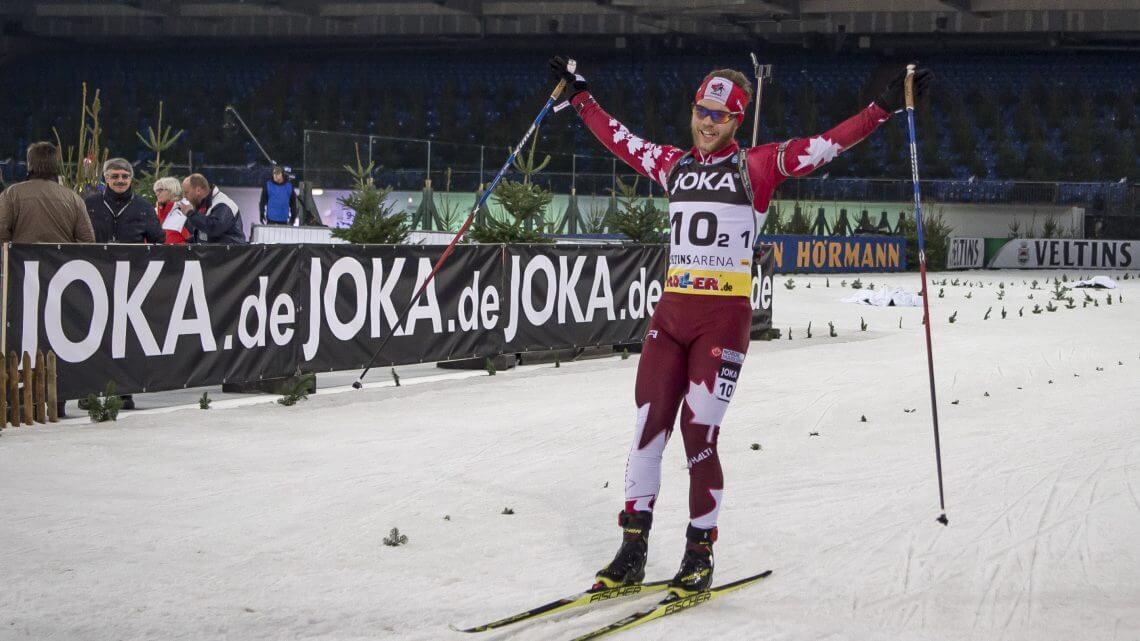 Jubel Biathlon WTC