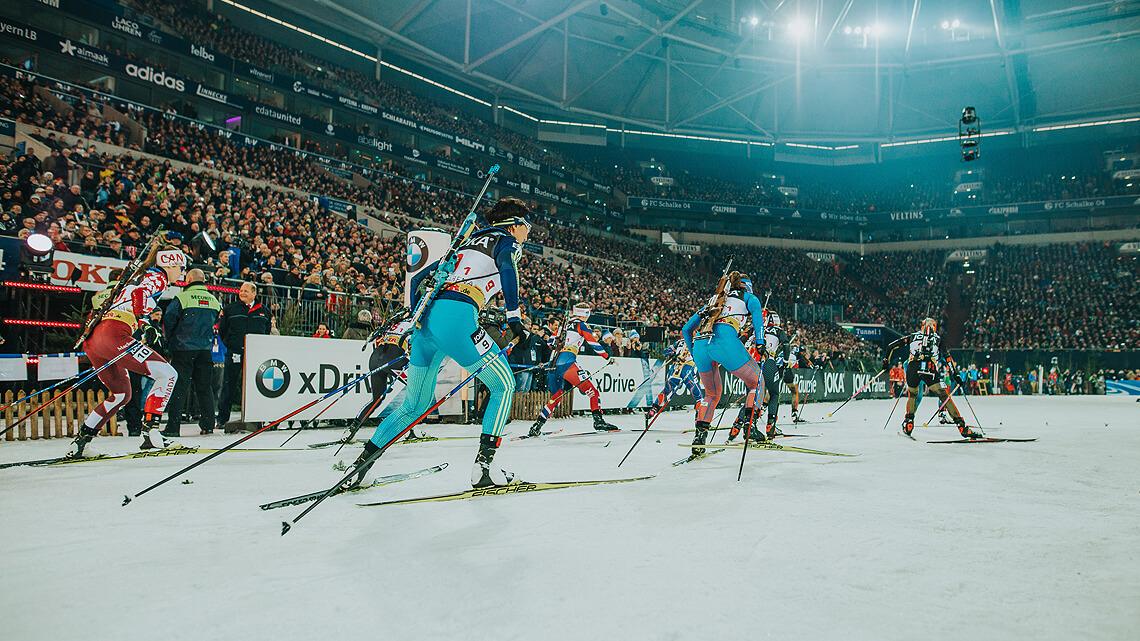 Tschechien, Russland und Italien ergänzen Starterfeld beim Biathlon auf Schalke