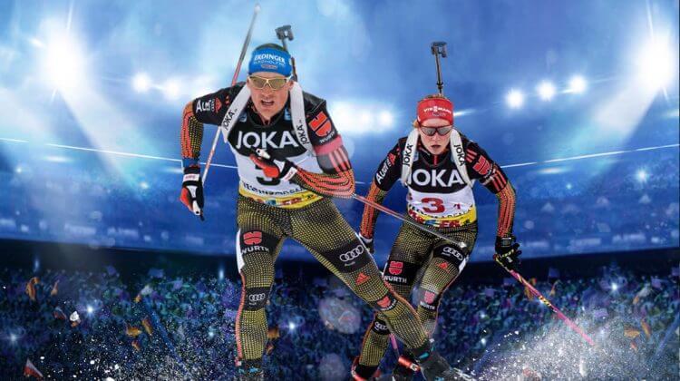 Biathlon auf Schalke