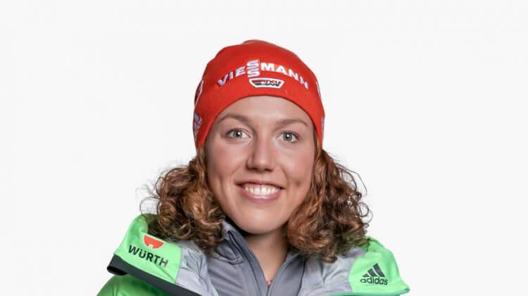 Vorstellung von Gesamtweltcup-Siegerin Laura Dahlmeier