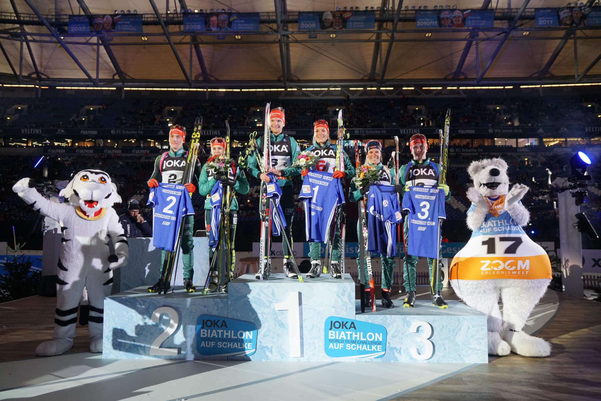 Die Sieger der German Team Challenge auf Schalke