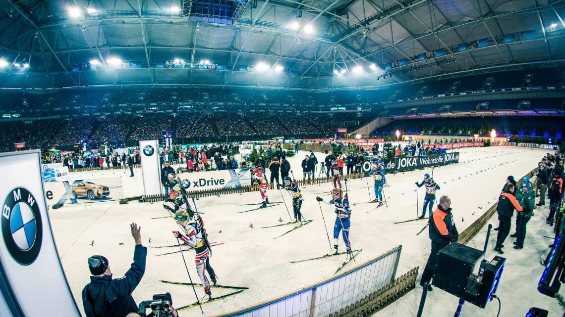 Besucherbefragung Biathlon auf Schalke