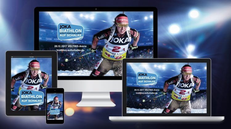 Wallpaper Biathlon auf Schalke-Teilnehmer