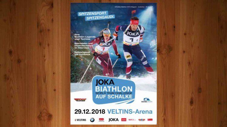Das Programmheft zur JOKA Biathlon-WTC 2018
