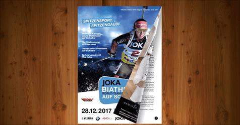 Programmheft Biathlon auf Schalke