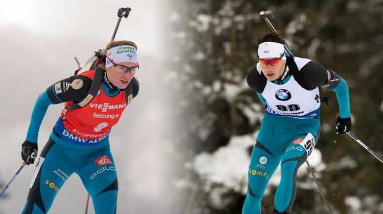 Anaïs Bescond und Emilien Jacquelin