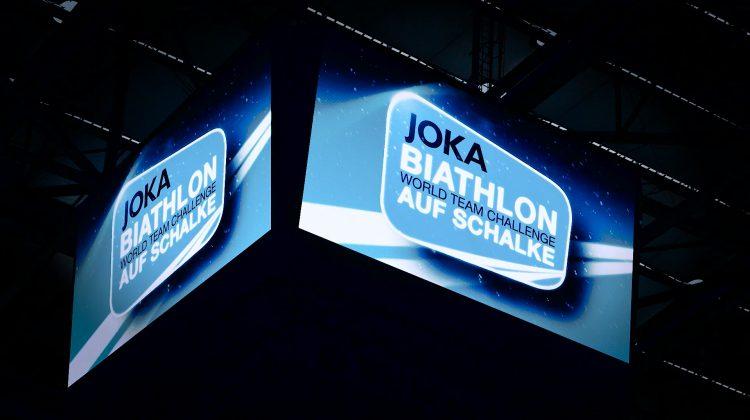 Offizieller Biathlon auf Schalke-Trailer