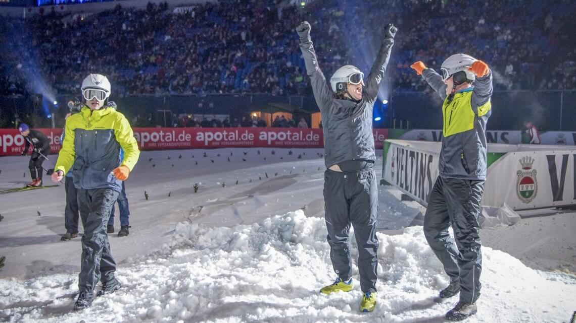 Sieger Schneeballschlacht WM 2018