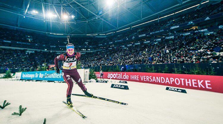Russland startet mit Ekaterina Yurlova-Percht und Anton Shipulin auf Schalke
