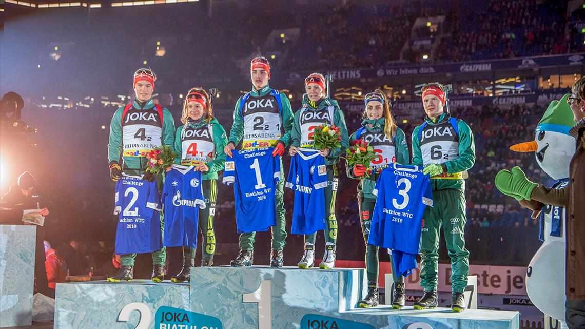 Die Siegerehrung der German Team Challenge 2018