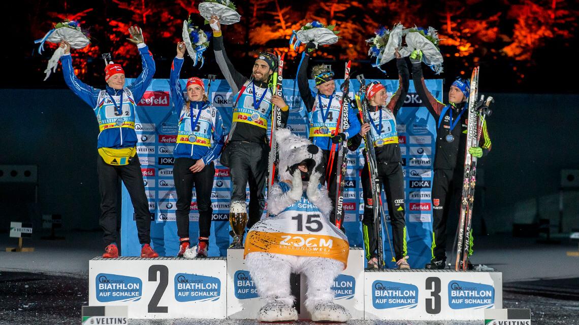 Biathlon WTC auf Schalke